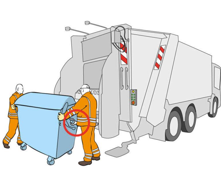 ulrikebahl-illustration-BG-Verkehr-Abfallentsorgungsfahrzeug