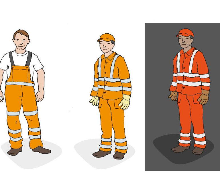 ulrikebahl-illustration-BG-Verkehr-Warnkleidung