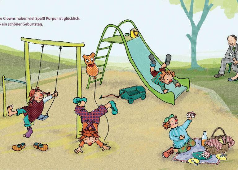 ulrikebahl-illustration-Bilderbuch-Inklusion-Spielplatz-Spass