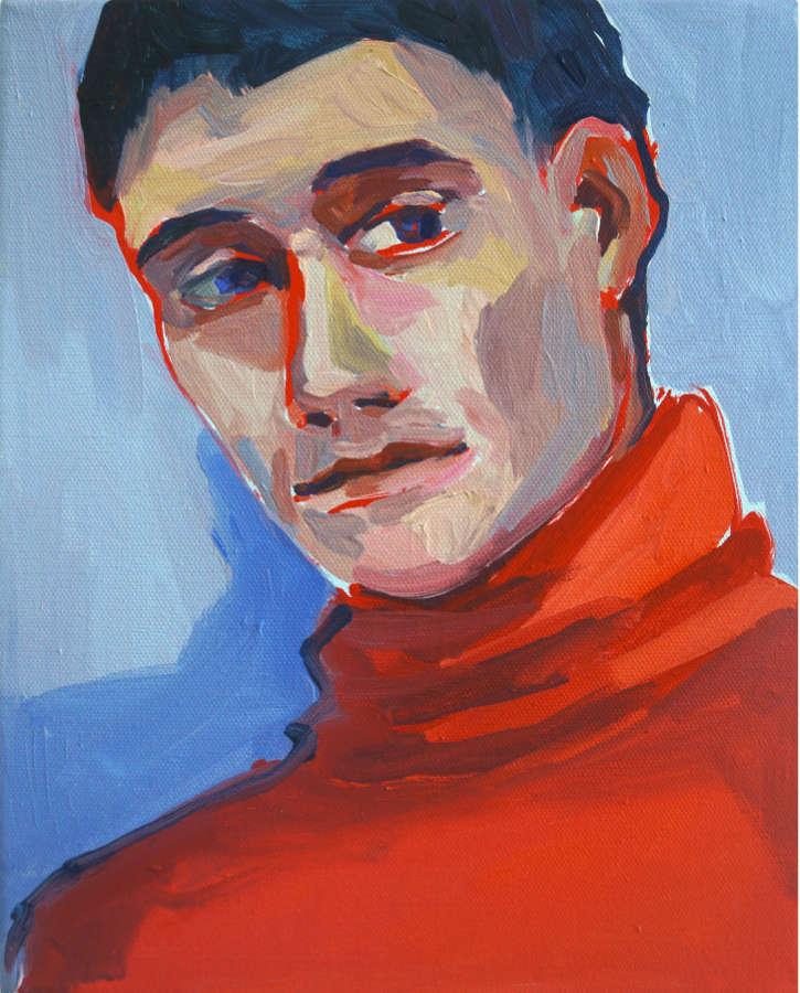 ulrikebahl-malerei-Portrait-Junger-Mann