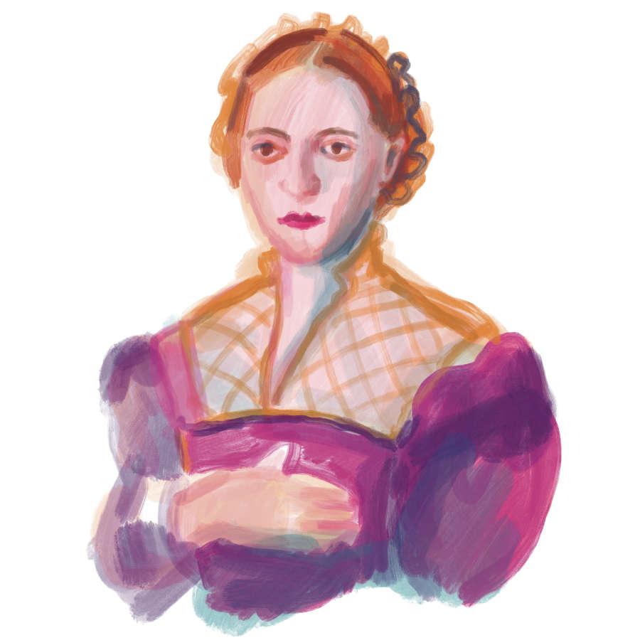 ulrikebahl-illustration-Portrait-Eleonore