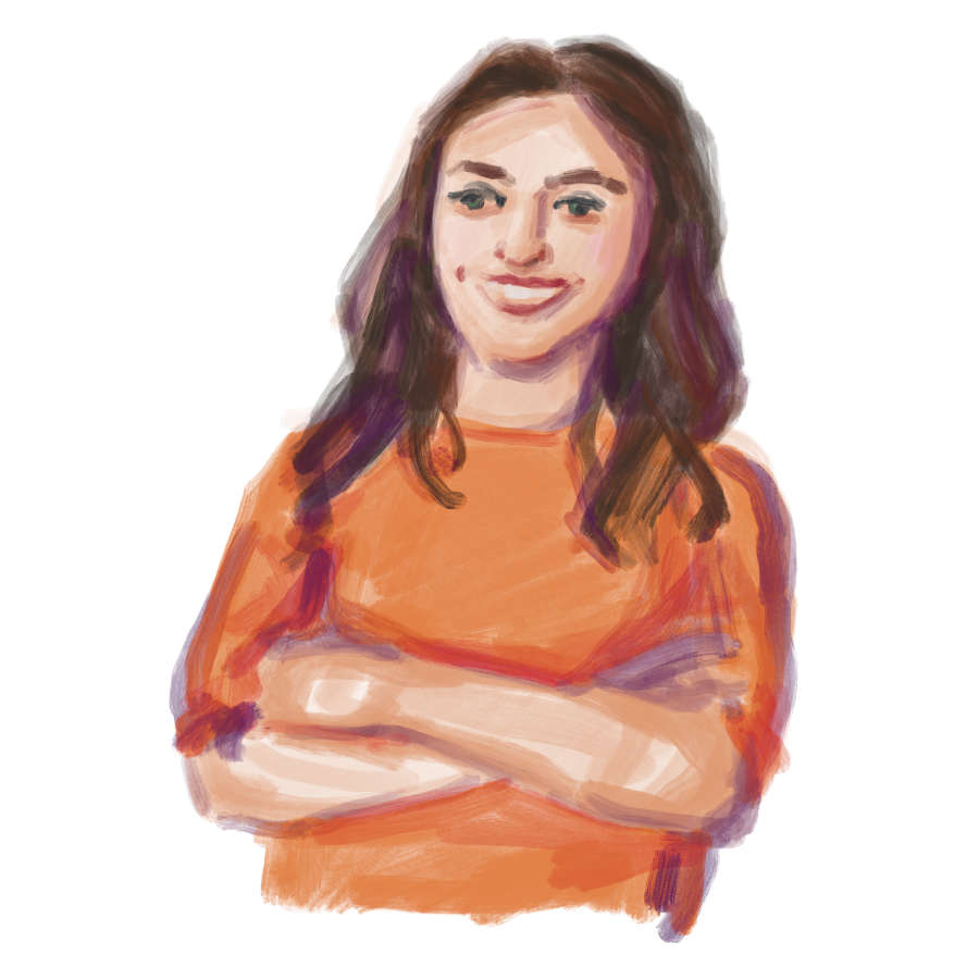 ulrikebahl-illustration-Portrait-junge-Frau